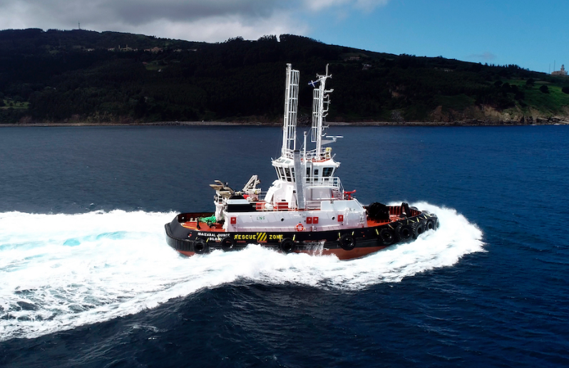 Ibaizabal and Murueta test at sea the first dual tug that will operate in the Port of Bilbao